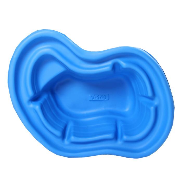 Пруд садовый пластиковый, 140 л, синий