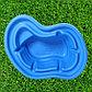 Пруд садовый пластиковый, 140 л, синий, фото 2