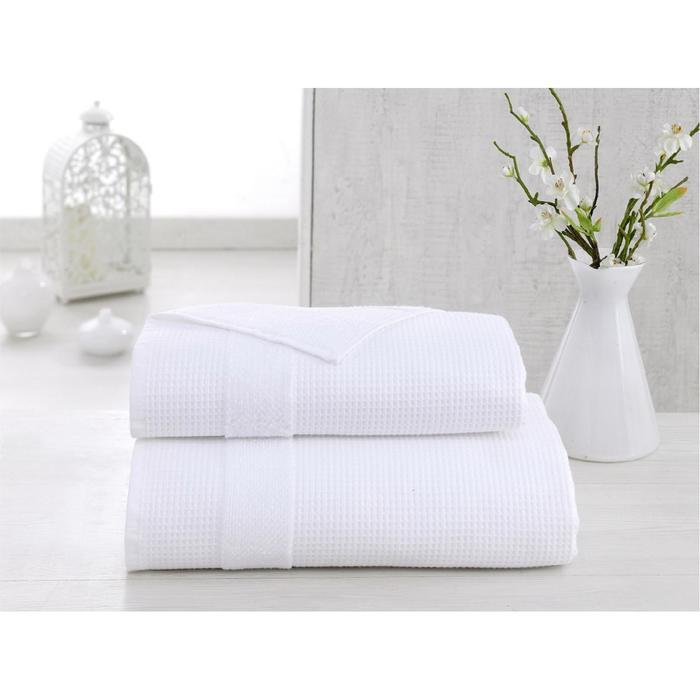 Полотенце Truva, размер 70 × 140 см, белый
