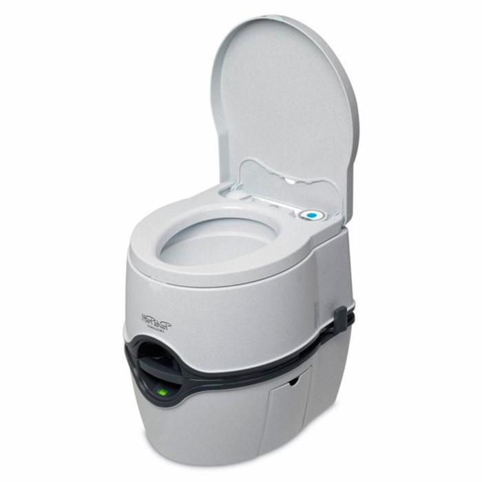 Биотуалет жидкостный Porta Potti Excellence Electric, нижний бак 21 л, верхний бак 15 л