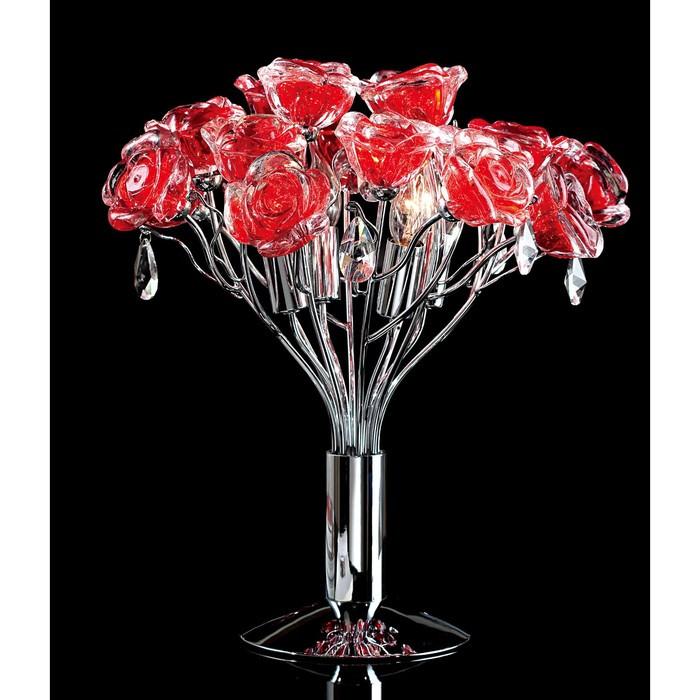 """Настольная лампа """"Rosa"""", 4x40Вт G9, цвет белый"""