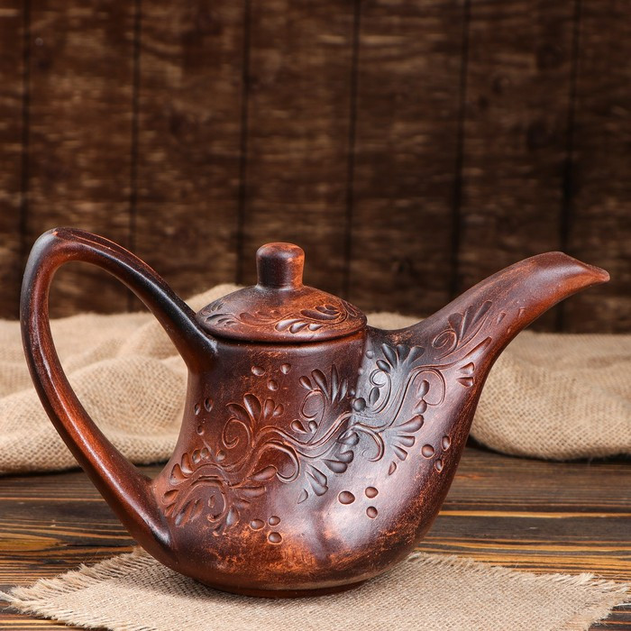"Чайник ""Red Clay"", 0.75 л, микс"