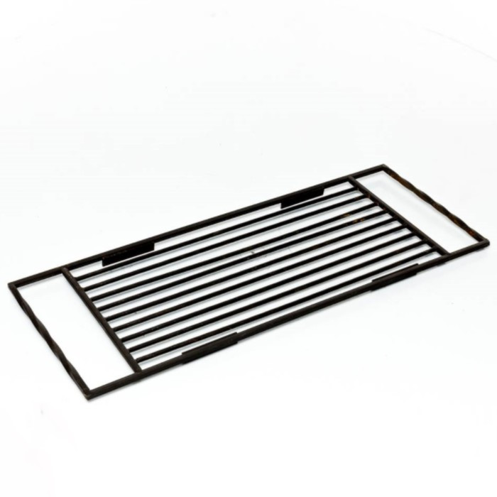 Решётка для жарки, на ящик мангала 30 × 80 × 2 см