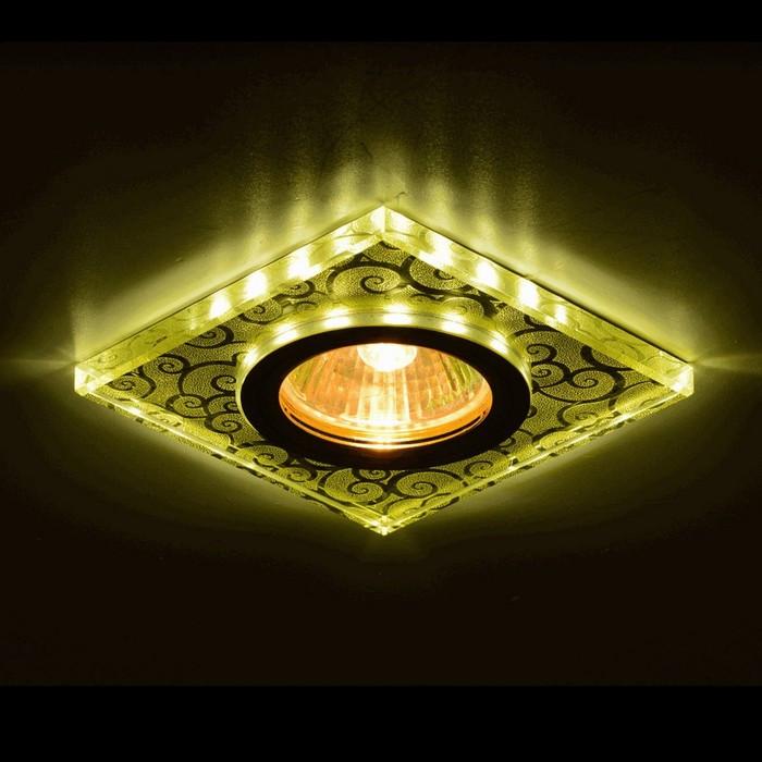 Светильник встраиваемый IL.0026.5871, GU5.3, 35 Вт, цвет золото, d=60мм