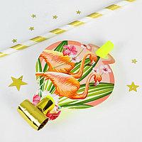 Карнавальный язычок «Фламинго», набор 6 шт.