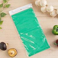 Скатерть для дачи Хозяюшка Радуга, цвет салат 137×274 см