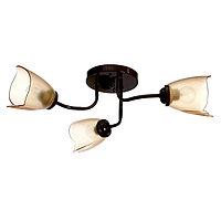 Люстра 1341003/3BR E27 15Вт коричневый