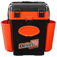 Ящик зимний Helios FishBox 10 л, цвет оранжевый