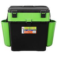 Ящик зимний Helios FishBox 19 л, цвет зелёный