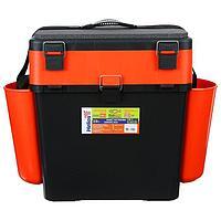 Ящик зимний Helios FishBox 19 л, цвет оранжевый
