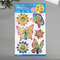 "Декоративные наклейки Home Decor ""Бабочки"" 29х41 см"