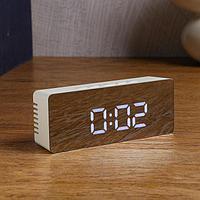 Часы электронные 'Кержан', термометр, 7 х 15 см, от USB