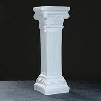 Колонна 'Античная малая' 18х18х56см белая