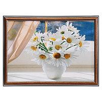 Картина 'Ромашки на окне' 25х35 см (28х38см)