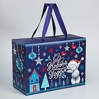 Пакет-коробка 'С Новым Годом', Me To You, 20 x 28 x 13 см