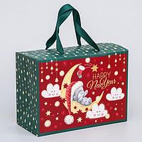 Пакет-коробка 'Happy New Year', Me To You, 20 x 28 x 13 см
