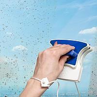 Магнитная щётка для мытья окон с двух сторон Доляна, 6-12 мм