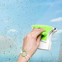 Магнитная щётка для мытья окон с двух сторон Доляна, 3-8 мм