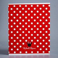 Тетрадь 48 листов в клетку Minnie 'Минни Маус'