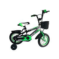Велосипед-STITCH, детский, зелёный