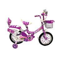 Детский велосипед для девочек - Phillips фиолетовый