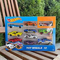 Набор машинок Хот Вилс Hot Wheels 10 штук