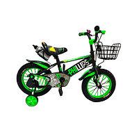 Велосипед-Phillips детский, зелёный детский