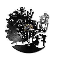 Настенные часы Ходячий замок (аниме) Howl's Moving Castle, подарок фанатам, любителям, 2325