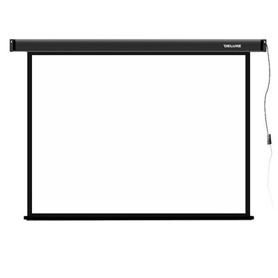 Экран моторизованный Deluxe DLS-E203-153, 4:3, 203x153 см