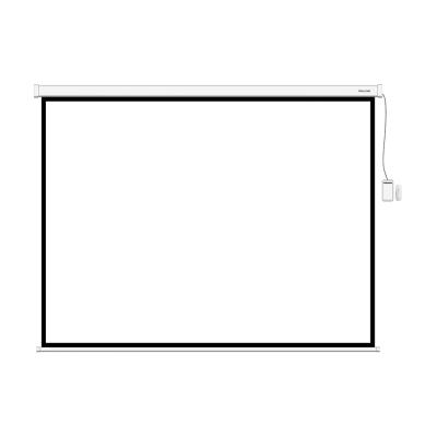 Экран моторизованный Deluxe DLS-ERC180W, 1:1, 172 x 172 см, белый матовый