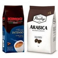 Две упаковки кофе в зернах по 1000 гр