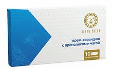 Крем-карандаш с прополисом и чагой, 10 шт (суппозитории)