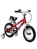 """ROYAL BABY Велосипед двухколесный SPACE NO.1 ALLOY 16"""" Красный RED"""