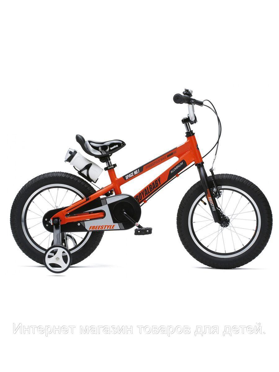 """ROYAL BABY Велосипед двухколесный SPACE NO.1 ALLOY 18"""" Оранжевый ORANGE"""