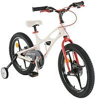 "ROYAL BABY Велосипед двухколесный SPACE SHUTTLE 18"" Белый WHITE"