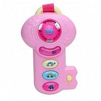 PITUSO Развивающая игрушка МУЗЫКАЛЬНЫЙ КЛЮЧ (розовый) (свет,звук) 16,5*10*5 см (в кор.96 шт)