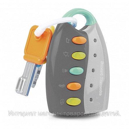 PITUSO Развивающая игрушка УМНЫЙ ПУЛЬТ (серый) (свет,звук) 19*6,5*4 см (в кор.108 шт)
