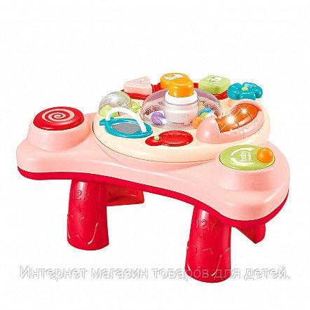 PITUSO Развивающий столик3в1 Умный Я (свет,звук) Red/Красный 38,5*34*12 см