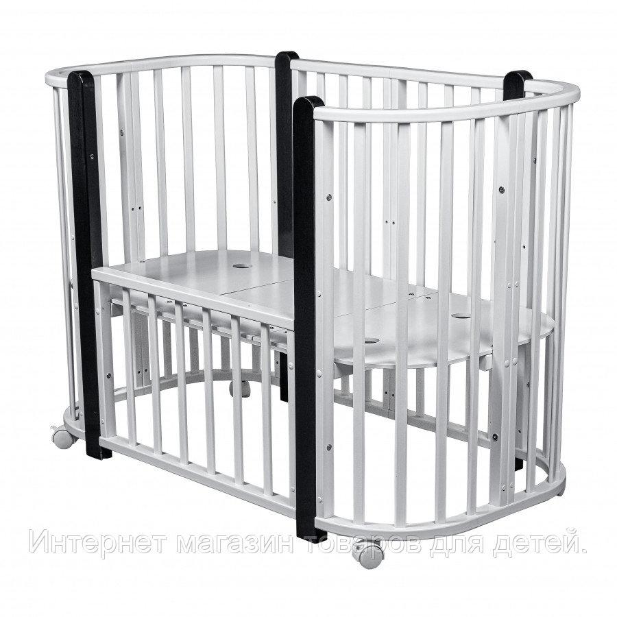 PITUSO Кровать детская 5/1 Asti Белый-Венге