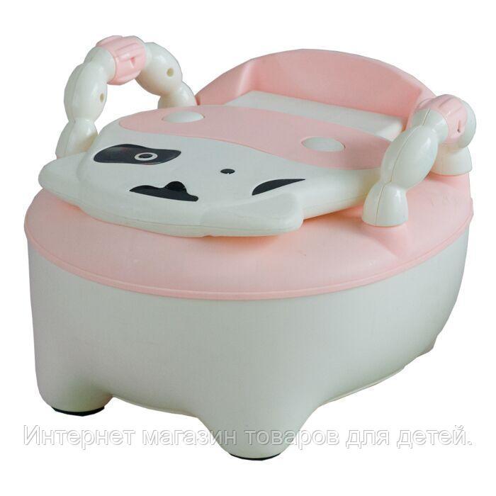 PITUSO Детский горшок БУРЕНКА Розовый PINK 36,5*31,5*46 см