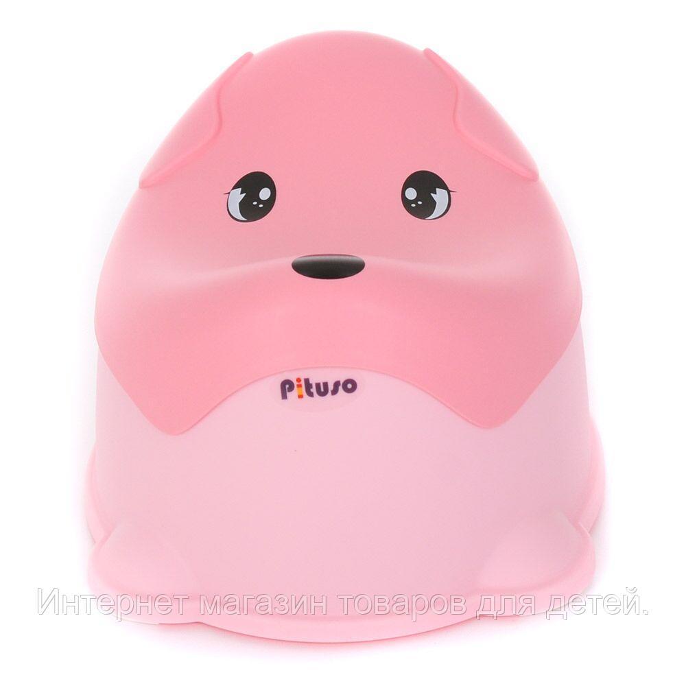 PITUSO Детский горшок ПЕСИК Розовый PINK 36,6*30,8*24 см