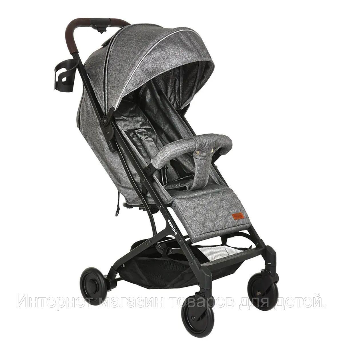 PITUSO Коляска детская CAMINO (прогулочная), Grey Metallic/Серый металлик