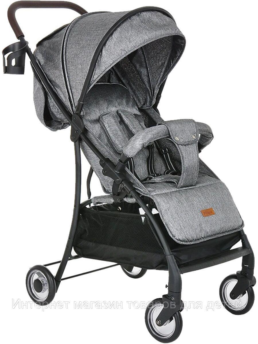 PITUSO Коляска детская LIBRO (прогулочная), Grey Metallic /Серый металлик