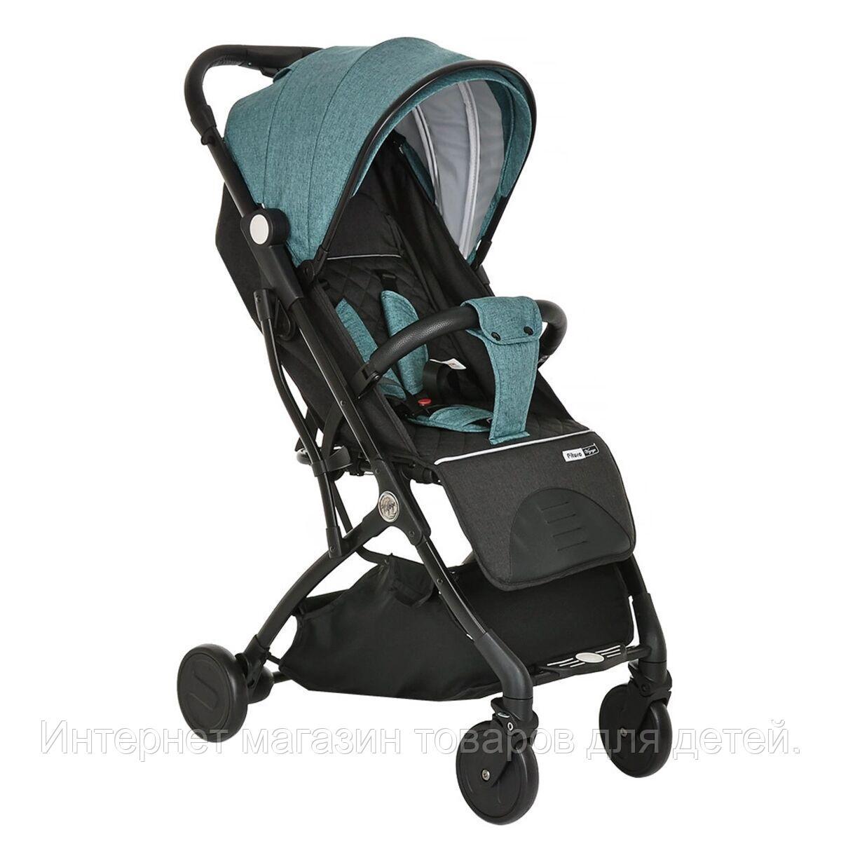 PITUSO коляска детская прогулочная  VOYAGE Black/Green /Черный/Зеленый