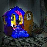 PALPLAY Игровой Домик Лилипут, со светом и звонком, Красный-зеленый-голубой/Маян (95х90х110h), фото 1