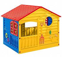 PALPLAY Игровой домик, Красный/синий/желтый (140*110*117,5h), фото 1