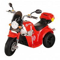 PITUSO Электро-Мотоцикл MD-1188, 6V/4Ah*1, колеса пластик  90х43х54 см, Red / Красно-Черный, фото 1