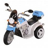 PITUSO Электро-Мотоцикл MD-1188, 6V/4Ah*1, колеса пластик 90х43х54 см, White-blue / Бело-Голубой, фото 1