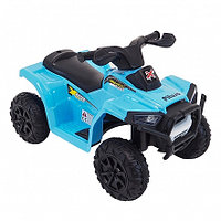PITUSO Электроквадроцикл 6V/4.5Ah,20W*1,колеса пластик,свет,муз.,амортиз.,68*42*45 см,Синий/BLUE