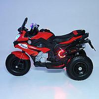 PITUSO Электромотоцикл HLX2018/2, 12V/7Ah*1,колеса надув.,108х46х76 см, Red/ Красный (музыка,свет), фото 1